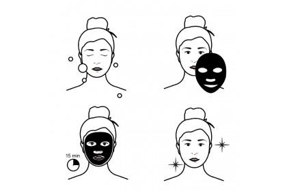 Hchana (Rorec) Natural Essences Moisturising Facial Mask 30g - AHC4847