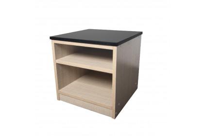 Table AMZ Black Granite Top Simple Design Side Table - FC1126