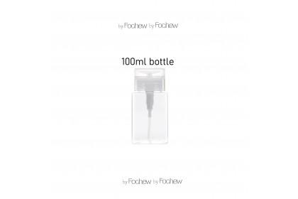 Pump Bottle Push Down Lockable Pump Dispenser Transparent Pump Bottle for Nail Polish and Makeup 100/150ml - AYQP100XZTM