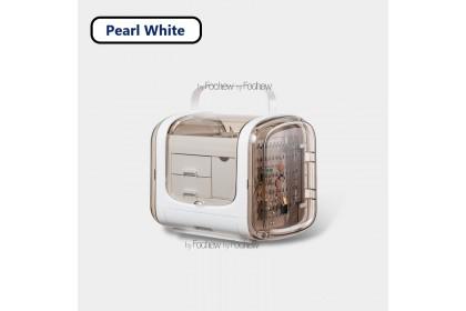AMZ Kotak Emas Bracelet Ring Box Jewelry Storage Organizer & Display Portable Earring Necklace Stand Box 魔方首饰收纳展示盒 - AXM1015
